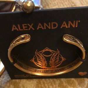 Alex and Ani cuff bracelet